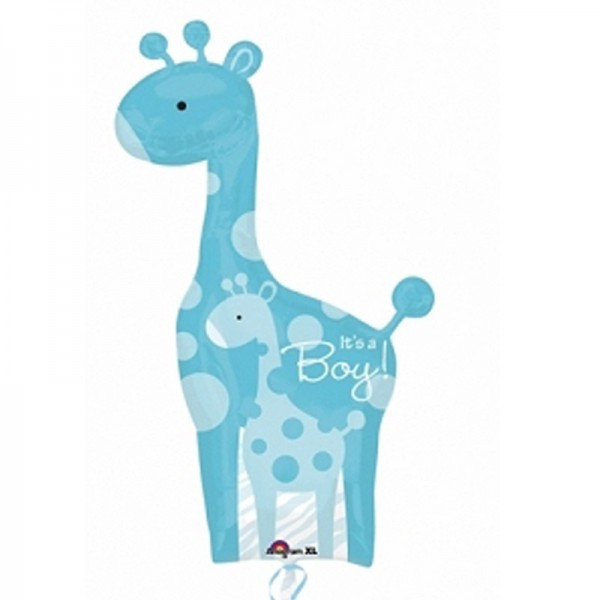 "Folienballon Giraffe "" It´s a Boy "" 107x64 cm"